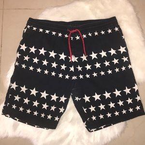 H&M Star Spangled Shorts